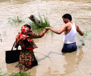 NEPAL BHAKTAPUR FLOOD RAIN