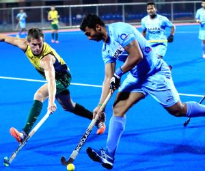 Men's Champions Trophy 2014 - practice match - India vs Australia