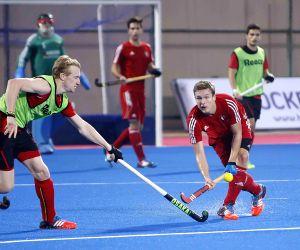 Men's Champions Trophy 2014 - practice match - Belgium vs Germany