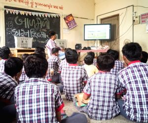 Tv-time In Class? Textbooks Come Alive In Gujarat's Schools