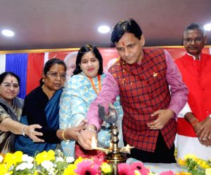 Kiran Ghai, Nityanand Rai during a party programme