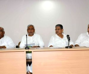 JD(U) meeting - Nitish Kumar