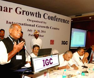 Bihar CM during Bihar Growth Conference