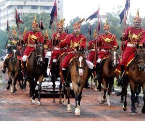 Independence Day celebrations - Jitan Ram Majhi