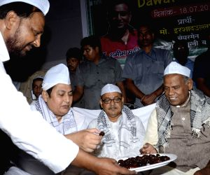 Bihar CM during 'Iftar' party