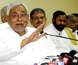 Nitish Kumar's press conference