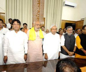 Nitish Kumar files nomination papers for Bihar Legislative Council polls