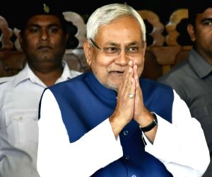 Nitish Kumar at state assembly