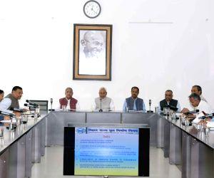 Nitish Kumar chairs review meeting of Bihar Road Construction Department