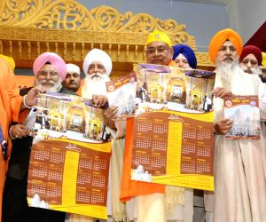 Bihar Chief Minister Nitish Kumar during  programme organised to celebrate tenth Sikh master, Guru Gobind Singh's birth anniversary at Harmandir Sahib Gurdwara in Patna Sahib, on Jan 13, 2019.
