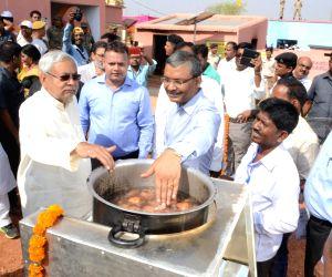 Nitish assess the development works