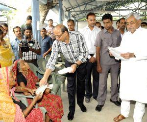 Bihar Chief Minister Nitish Kumar meets public at Janta Durbar