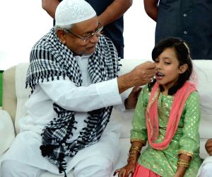 Bihar Chief Minister Nitish Kumar greet muslims on Eid