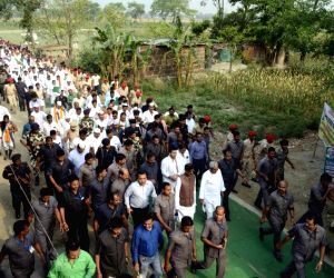 Nitish Kumar's Gandhi Smriti Yatra