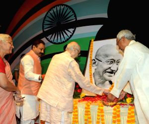 Centenary year of Champaran Satyagraha - Nitish Kumar pays tribute to Mahatma Gandhi
