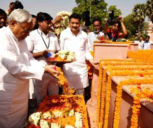 Nitish Kumar pays tribute to Kunwar Singh