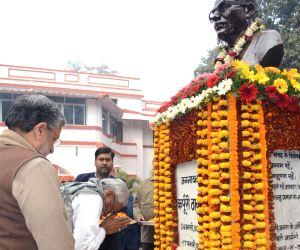 Karpoori Thakur's birth anniversary - Nitish Kumar pays tributes