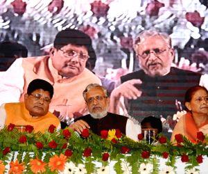 Sushil Kumar Modi dsuring a programme