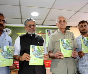 Sushil Kumar Modi at a book launch