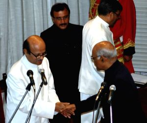Bihar Lokayukta swearing in ceremony