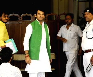 Tej Pratap Yadav at Bihar Assembly