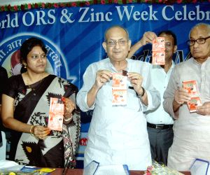 Celebration of world ORS and zinc week