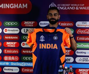 Team India 'ready to rumble' in new jersey against England