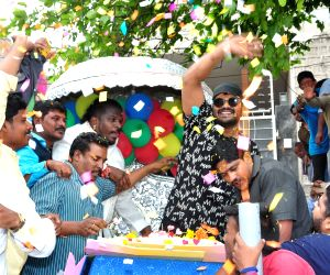 Birthday celebration of Manchu Manoj