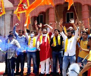 BJP celebrates August 5 developments in Ayodhya