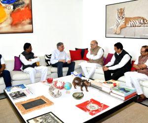 Amit Shah meets Ratan Tata