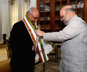 Amit Shah meets President Kovind