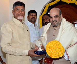 Amit Shah meets Andhra CM