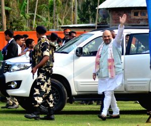 Shah meets party leaders, no breakthrough on Goa leadership