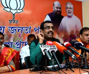 BJP press conference - Ram Madhav