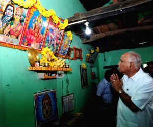 BS Yeddyurappa meets Dalit family