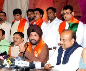 Arvinder Singh Lovely's press conference