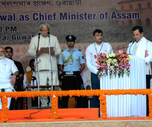 Sonowal takes oath as Assam CM