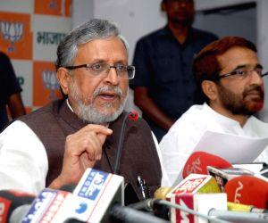 SK Modi's press conference