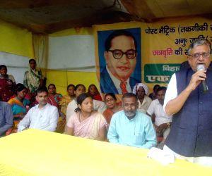 Sushil Kumar Modi during a rally