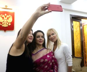Russian Film Days - 2017 - film festival - Hema Malini, Kseniya Ryabinkina