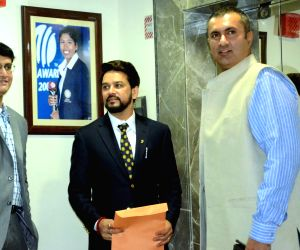 Anurag Thakur unanimously elected BCCI president