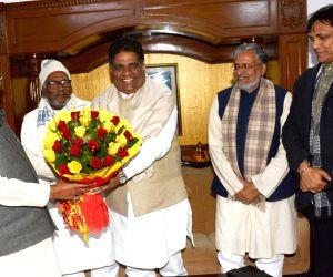 Bhupender Yadav calls on Bihar CM