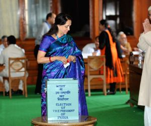 Vice presidential election- Hema Malini