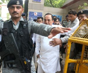 Subramanian Swamy at Patiala House Court