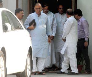 LK Advani's resignation