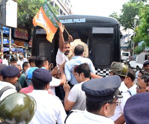 BJP's protest rally against West Bengal Government