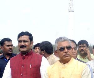 Amit Shah's rally preparation underway