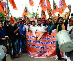BJP workers celebrate