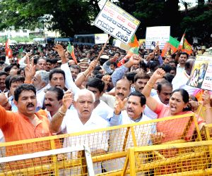 BJP demonstration