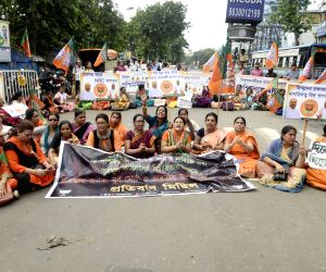BJP march in Kolkata to demand NRC in Bengal